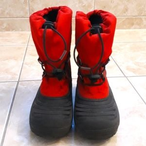 Sorel Red Waterproof Winter Boots Size 2